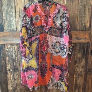 Fashque, 1x, Sheer Multi-Color Cover-Up
